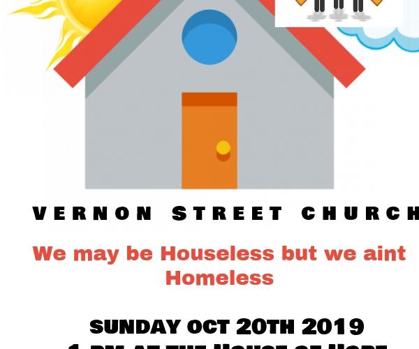 Oct  20 2019 Street Church Vlog